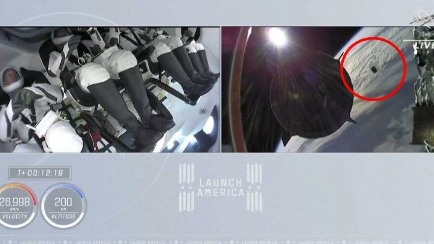 SpaceX görevinde alarm: Çarpışma uyarısı verildi