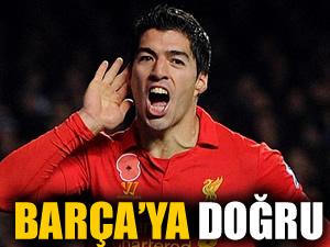 Suarez Barça'ya doğru!