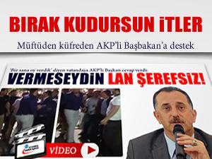 Müftüden AKP'li Başkan'a destek
