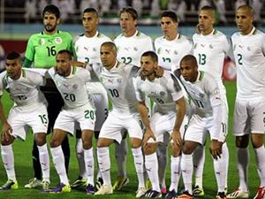 Cezayir Milli Takımı'na coşkulu karşılama