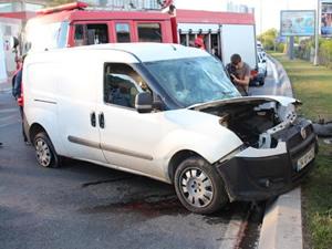 Sarıyer'de kaza: 2 yaralı!
