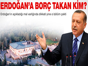 Başbakan Erdoğan'a 3 yıldır borçlu olan kim?