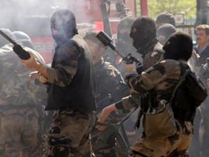 Terör Örgütleri'nden polise saldırı