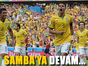 Brezilya yarı final'de Almanya'nın rakibi oldu!