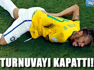 Neymar turnuvayı kapattı!
