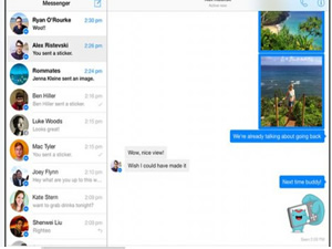 iPad için Facebook Messenger geldi