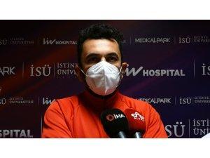 Korona virüsü yenen ünlü oyuncu taburcu oldu