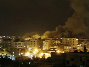 İsrail'in Gazze saldırısında 9 kişi hayatını kaybetti