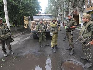 Ordu birlikleri Ukrayna'nın Artemivska kentini ele geçirdi