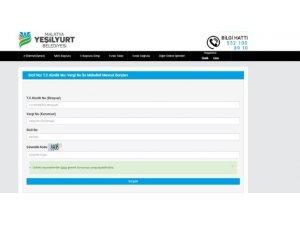 Yeşilyurt Belediyesi online hizmetlerle vatandaşların yanında