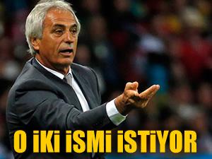 Halilhodzic 2 futbolcu istiyor!