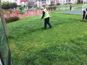 Serdivan'da parklar tam kapanma sonrasına hazırlanıyor