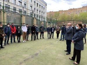 Moskova'daki Türkiye Büyükelçisi, Akkuyu Nükleer A.Ş. eğitim programına katılan öğrencilerle buluştu
