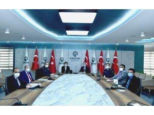 Karatay'da korona virüs ile mücadele toplantısı gerçekleştirildi