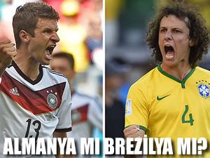 Brezilya ve Almanya final aşkına!