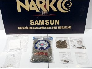 Evinde uyuşturucu madde ele geçen şahıs tutuklandı