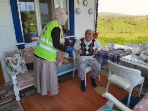 İlkadım Vefa Sosyal Destek ekipleri 13 bin 654 vatandaşın yardımına koştu