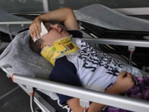 Kayseride kaza! 13 kreş öğrencisi ölümden döndü