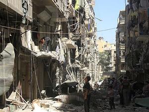 Ramazanda Halep'e varil bombası yağdı