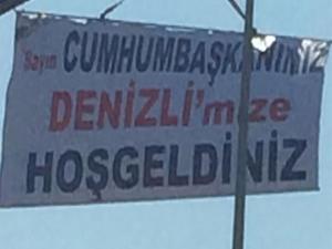 Sosyal medyayı sallayan Erdoğan pankartı