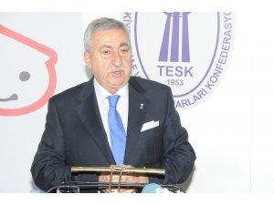 """TESK Genel Başkanı Palandöken: """"Esnaf Ramazan Bayramı'na buruk giriyor"""""""
