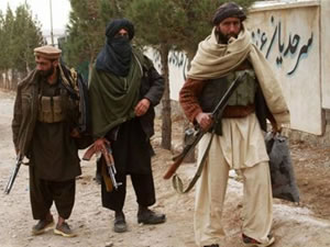 Afganistan'da Taliban operasyonu