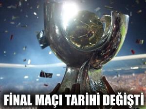 Süper Kupa'nın tarihi değişti!