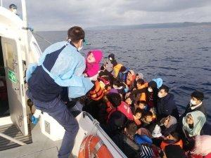 Çanakkale'de geçtiğimiz ay 520 düzensiz göçmen kurtarıldı
