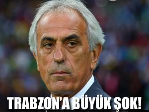 Trabzonspor'a şok! Halilhodzic herkesi şaşırttı