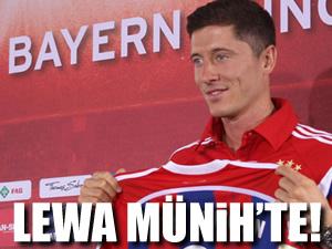 Bayern Lewandowski'yi tanıttı!
