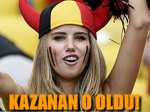 Dünya Kupası'nın kazananı Axelle