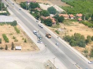 Muğla'da havadan ve karadan trafik denetimi