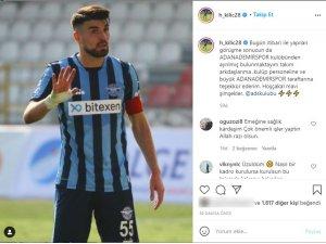 Adana Demirspor'un golcüsü Hasan Kılıç takımdan ayrıldı