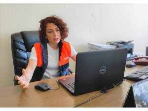 Depreme karşı afet eğitimleri video konferans ile sürüyor