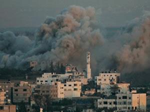 İsrail Gazze'lilere vahşet yağdırıyor