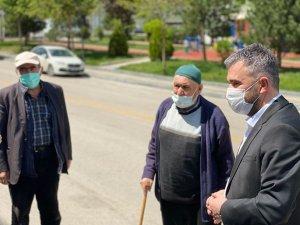 Başkan Çetin'den vatandaşlara bayram ziyareti
