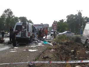 Kayseri'de kaza:4 ölü