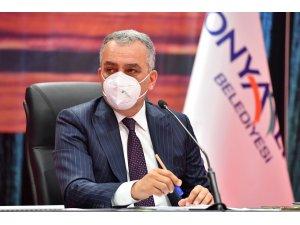 Konyaaltı Belediyesi, kiracı esnafından Mayıs ayı kirası alınmayacak