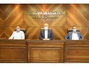 Suluova meclisinden İsrail'e kınama