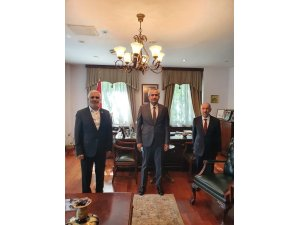 DATÜB'den Almatı Başkonsolosu Akıncı ile bir araya geldi