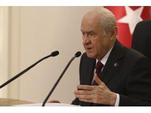 """Bahçeli: """"Kudüs'ün ruhunu ve dokusunu bilen Türk milleti yeni bir nöbet için devreye girmelidir"""""""