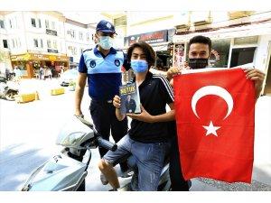 Büyükşehir'den Gençlere Nutuk ve Türk Bayrağı