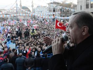 Erdoğan:Paralel çeteyi temizleyeceğiz