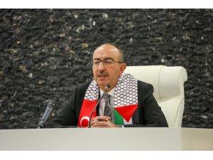 Meram Belediyesi'nden Filistin'e ambulans desteği