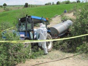 Yaşlı adam traktör kabininde ölü olarak bulundu