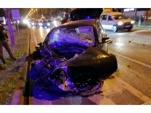 Samsun'da zincirleme trafik kazası: 3 yaralı