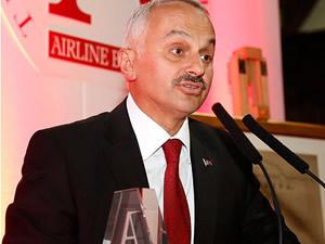 """THY Genel Müdürü Kotil'e """"Yılın CEO'su"""" ödülü"""