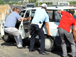 Tokat'ta trafik kazası: 5 yaralı