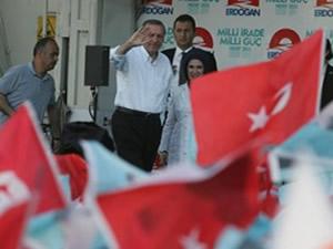 Başbakan Erdoğan'a sürpriz destek