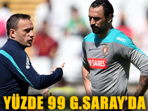 """""""Almeida yüzde 99 Galatasaray'da"""""""